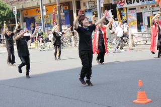 亀戸ホコ天ソーラン祭り