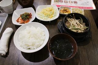 韓国料理 一品