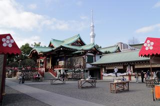 亀戸天神社 初詣